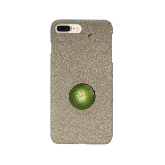 砂浜のすだち Smartphone cases