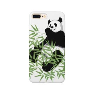 食いしん坊パンダ Smartphone cases