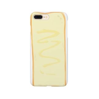 長すぎる食パン(マヨ) Smartphone cases