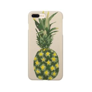 パグ母雑貨店のパイナップル Smartphone Case