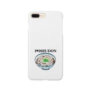 I♥ISEUDONカラー(田上千晶) Smartphone cases