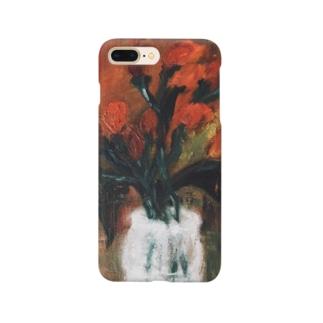 静物画「赤い実」 Smartphone cases