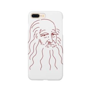 ゆるレオナルド・ダヴィンチ Smartphone cases