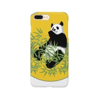 満月パンダ Smartphone cases