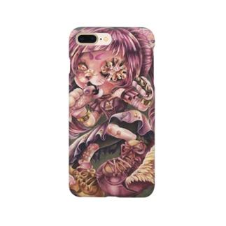 ひめさまにゃんこの野良でびゅ〜 Smartphone cases