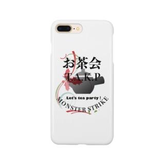 お茶会T.A.K.P teamロゴ Smartphone cases