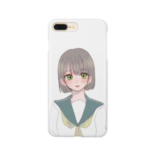 まがおちゃん Smartphone cases