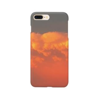夕暮れ雲 Smartphone cases