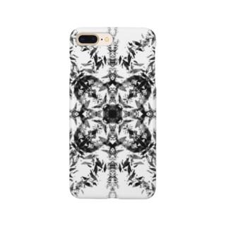 シンメトリ(黒ver) Smartphone cases