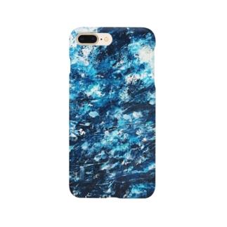 涼しげな青 Smartphone cases