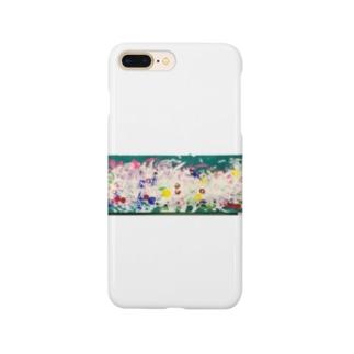 カラフルアート龍 Smartphone Case