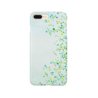 シャワードット-leaf- Smartphone cases
