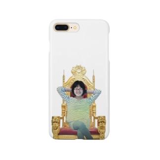 人を煽るグンジさん Smartphone cases