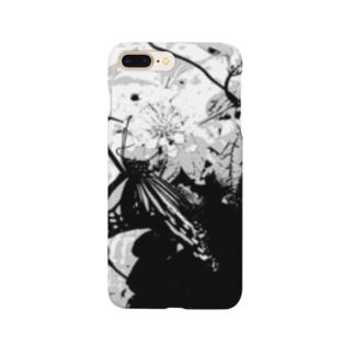 アオスジアゲハ Smartphone cases