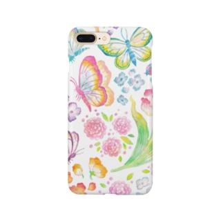 蝶々と花 Smartphone Case