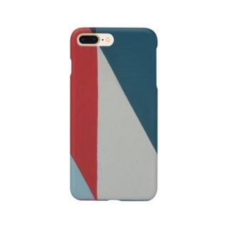 Geometric Letter series - Berry Mint 'M' Smartphone Case