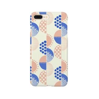 ハーフドロップ~blue ver. Smartphone Case