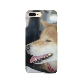 まめちゃん Smartphone cases