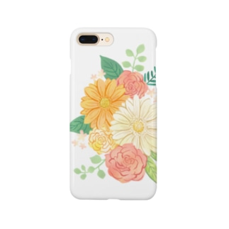 Gerbera & Rose Smartphone cases