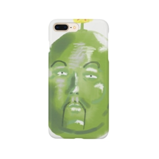 そら豆の精霊さん Smartphone cases