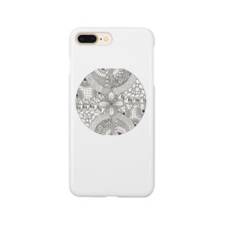 ゼンタングル Smartphone cases