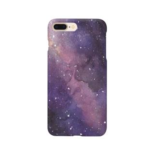 宇宙/ネビュラ Smartphone cases
