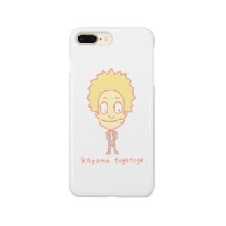 加山トゲトゲ Smartphone cases