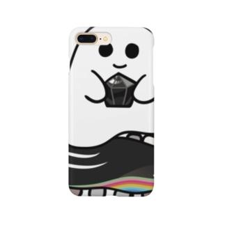 石ころポユ君ーモリオン Smartphone cases