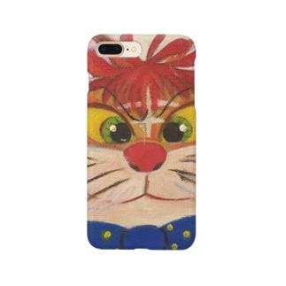 ネコとリボン Smartphone cases