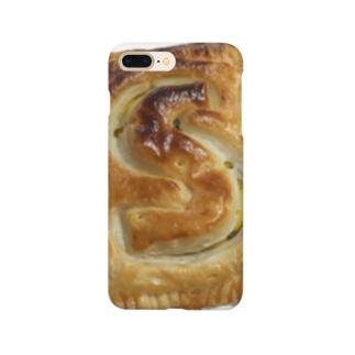 S型のパンプキンパイ Smartphone cases