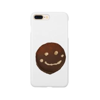 ザッハトルテの微笑み Smartphone cases