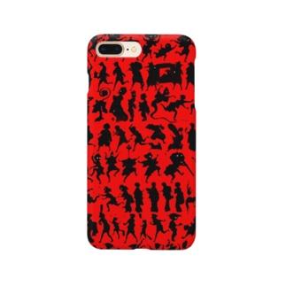 しん板かげゑづくし Smartphone cases