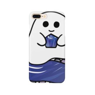 石ころポユ君ータンザナイト Smartphone cases