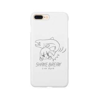 しゃけブレイク Smartphone cases