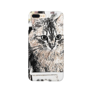 マロマロのMAROchan 入っちゃった Smartphone cases