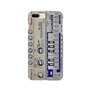 Roland bassline TB-303 イラスト Smartphone cases