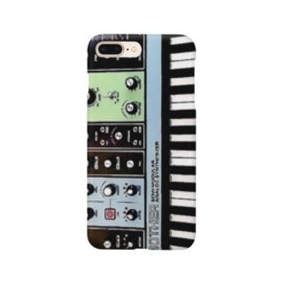 moog 祖母イラスト Smartphone cases