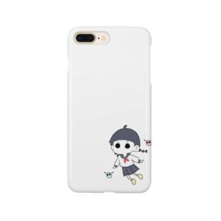 おさげちゃん Smartphone cases