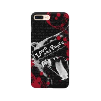 Lunatic Cat-ismのLove and Piece Smartphone Case