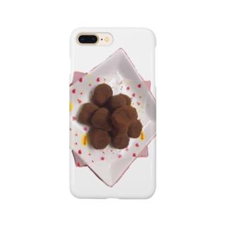 夏輝カンナのチョコレート Smartphone cases
