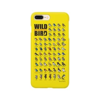 野鳥連合【黄】 Smartphone cases