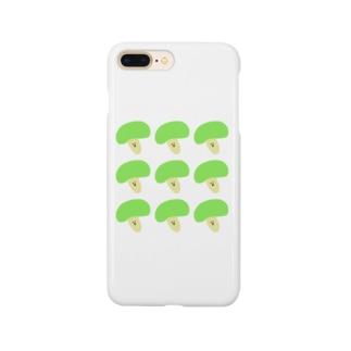 きのこいっぱい Smartphone cases