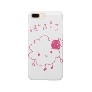 ぽぷこ Smartphone cases