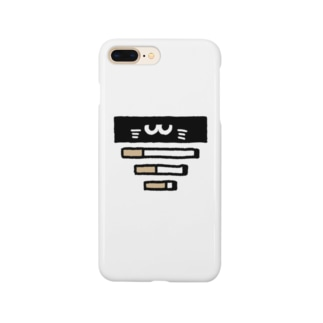 タバコとノリスケ猫 Smartphone cases