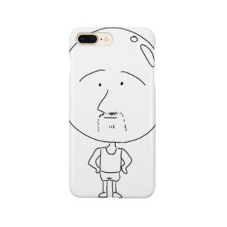 ガムおじさん Smartphone cases