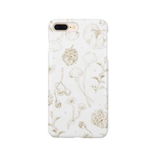 散歩道の宝物【Gold】 Smartphone cases
