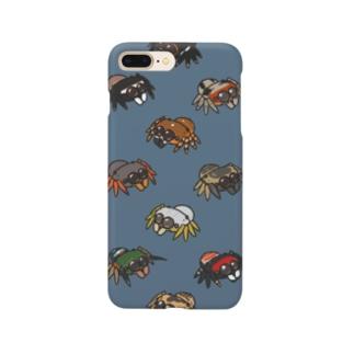まんまるハエトリグモ Smartphone cases