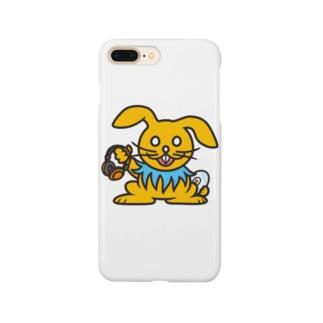 DJうさぎ スマホケース Smartphone cases