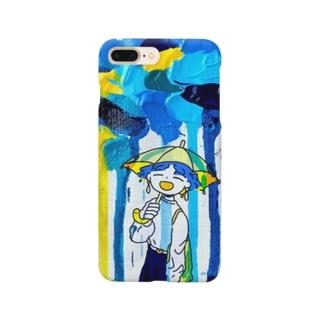 雨 Smartphone cases