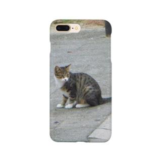 美人さんのキジねこ Smartphone cases